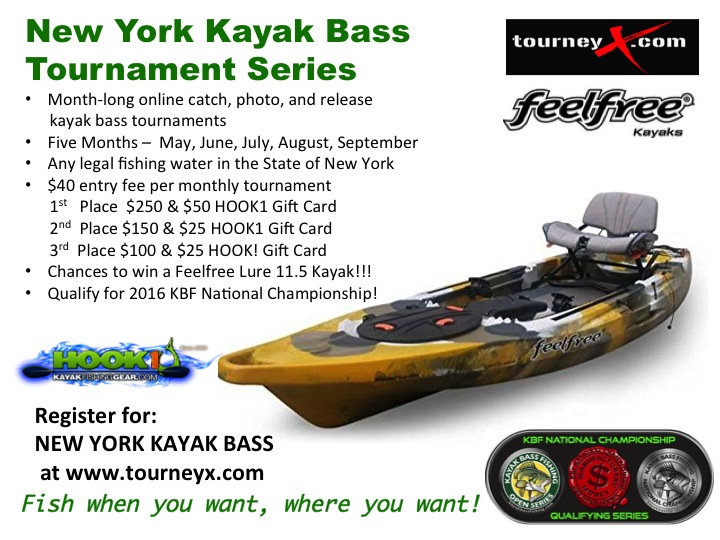 New york kayak bass for Best bass fishing kayak